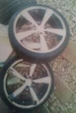 Set of Four BSA Wheels 18 x 7.5 Stud 4x100 Ipswich Ipswich City Preview