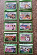 LeapFrog Explorer Games Lot