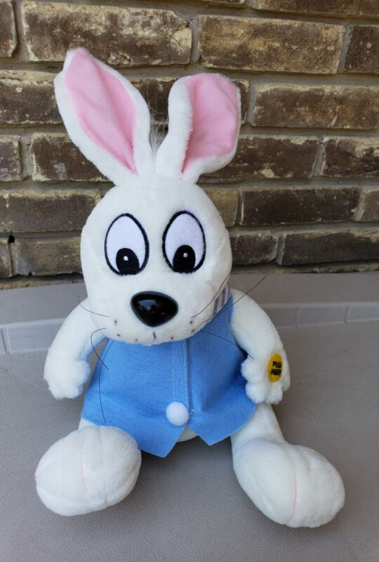 "GEMMY INDUSTRIES ~ 17"" PLUSH MUSICAL PETER COTTONTAIL (VINTAGE)"