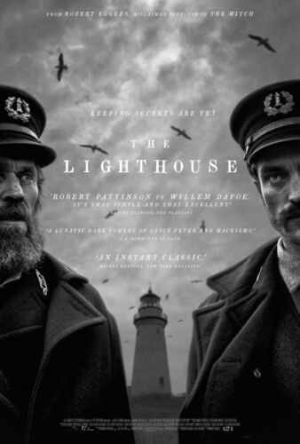 The Lighthouse movie poster - Willem Dafoe, Robert Pattinson - 11 x 17 inches
