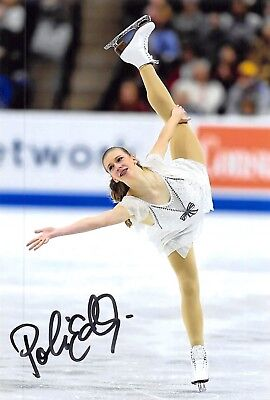 Polina Edmunds - USA - Eiskunstlauf - Foto signiert (2)