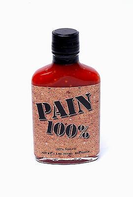Острый соус гарантирует вам 100% боль еще в названии