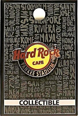 Hard Rock Cafe Yankee Stadium Pin Classic Core Logo NYS New York New LE # 97938