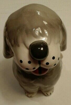 ALPO Dan The Sheep Dog 8-inch tall Ceramic Treat or Cookie Jar