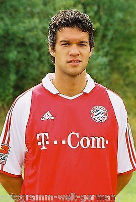 Michael Ballack Bayern München 2003-04 seltenes Foto