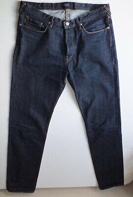 Mens Paul Smith Indigo blue Jeans 34 34L 36 leg