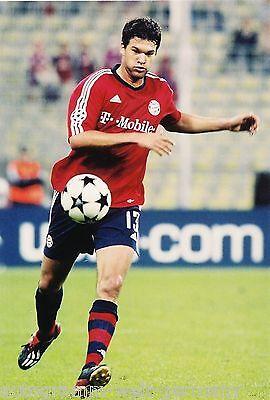 Michael Ballack Bayern München 2004-05 seltenes Foto+2