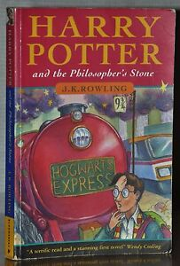 Harry Potter And The Philosophers Stone First Edition Ebay