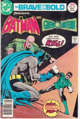 BRAVE and the BOLD #134 - Batman/Green Lantern