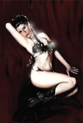 Slave Leia, Gold Bikini, Pin Up Art ()