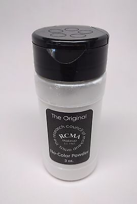 Powder 3 Oz Shaker (RCMA No-Color Powder 3oz - Face cosmetic loose Powder, Shaker Top Bottle, Sealed )