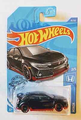 2020 Hot Wheels 2018 Honda Civic Type R #81/250 [Black] Honda Series 2/5