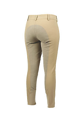 NEW Shires Ladies Women's Providence Full Seat Riding Breeches Pants - Tan - 40