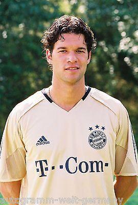 Michael Ballack Bayern München 2004-05 seltenes Foto