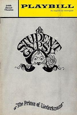 "Eileen Brennan (Signed) ""STUDENT GYPSY"" Dom DeLuise 1963 Broadway FLOP Playbill"