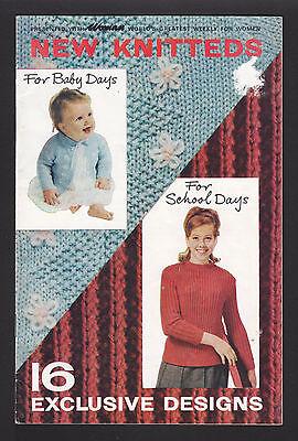 Винтажные Vintage Knitting Booklet - Woman