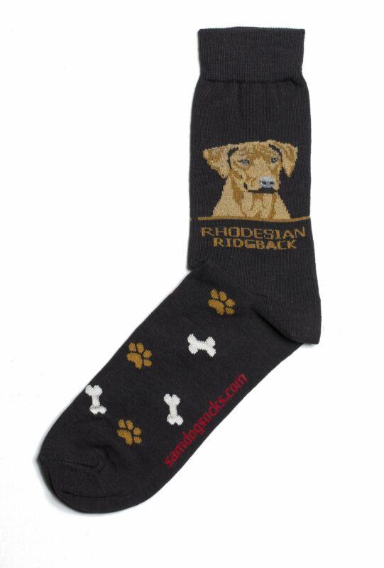Rhodesian Ridgeback Dog Socks Mens