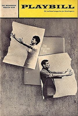 """Lanford Wilson """"GINGHAM DOG"""" Micki Grant / Robert Darnell 1968 Playbill"""