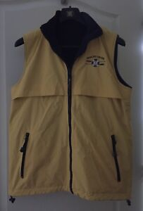 Vest- Reversible- Yellow and blue