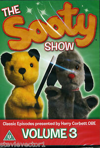 The-Sooty-Show-Classic-Episodes-Volume-3-Harry-Corbett-OBE-New-Sealed-DVD