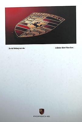 Porsche 1990 Company Profile book