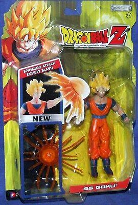 Dragonball Z Gt Ss Goku 6  W Spinning Attack Energy Blast Factory Sealed 2004