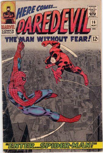 Here Come Daredevil  #16 (Enter Spiderman)