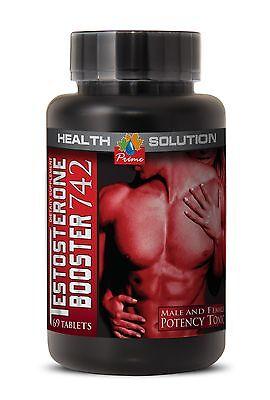 Testosterone Pills - Testosterone-boosting Formula 742 (1 Bottle)