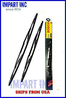 BMW E39 525i 528i 530i 540i M5 BOSCH OEM Wiper Blade Set 3397001539