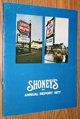 Annual Report 1977 - Shoney's Big Boy Restaurant KFC Captain Ds Ray - Shoneys Big Boy
