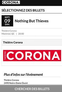 Looking for tickets for concert tickets by Nothing but Thieves