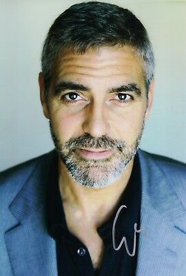 AUTOGRAPHED  5X10 SIGNED BY PROLIFIC ACTOR GEORGE CLOONEY UACC COA
