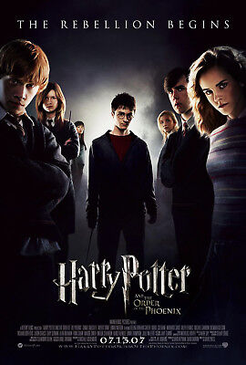 HARRY POTTER AND THE ORDER OF THE PHOENIX (2007) ORIGINAL MOVIE POSTER - (Origin Of The Phoenix)