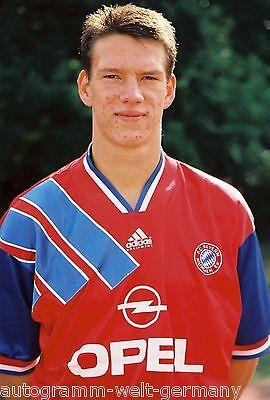 Christian Ziege Bayern München 1994-95 seltenes Foto+2