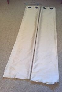 Curtains: Two Panels with Grommets