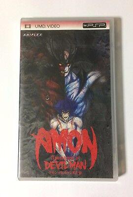 USED PSP UMD Video AMON Apocalypse of DEVIL MAN JAPAN DEVILMAN import Japanese