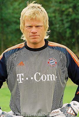 Oliver Kahn Bayern München 2003-04 seltenes Foto+2