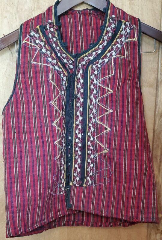 Antique Traditional Macedonian Woolen Men