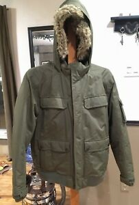 Windriver down bomber jacket