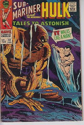 Tales to Astonish 92 - 1967 - Hulk & Sub-Mariner