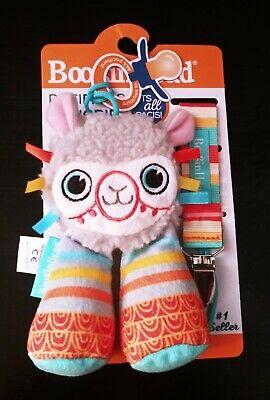 BooginHead PaciPal ~ PaciGrip Pacifier Clip ~ Llama ~ 2 Piece Set ~ New