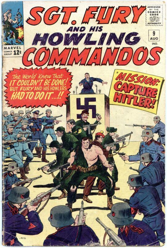 Sgt. Fury #9 VG