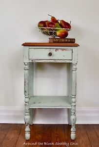Shabby chic side table/night stand/entry table