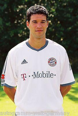Michael Ballack Bayern München 2002-03 seltenes Foto
