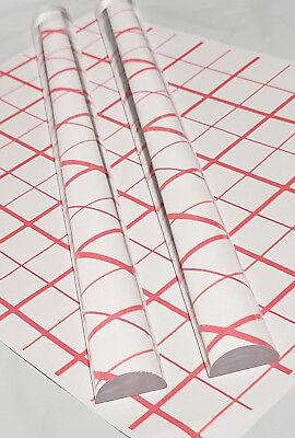 2 Pcs 1 Diameter Half 12 Round 12 Long Clear Acrylic Plexiglass Lucite Rod