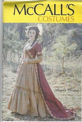 Schnittmuster McCall's M 7826: Historisches Kostüm für - Schnitt Kostüm