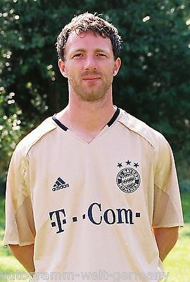 Thomas Linke Bayern München 2004-05 seltenes Foto+2