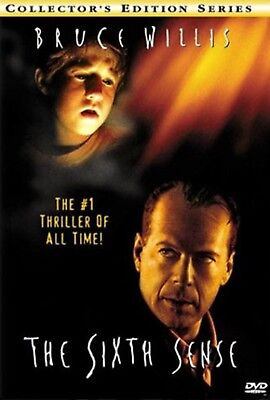 The Sixth Sense Collectors Edition   Bruce Willis   Mystery   Thrill   Dvd  New