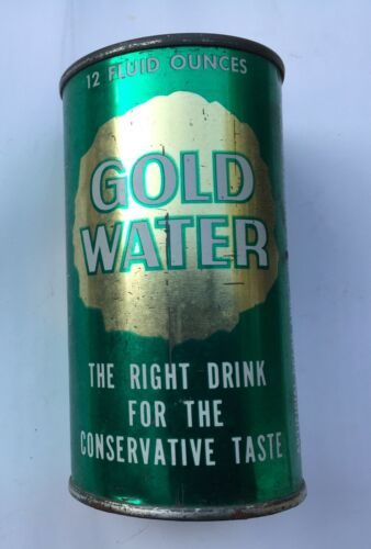 """1964 Barry GoldWater Can  """"The Right Drink for the Conservative Taste"""" Steampunk"""