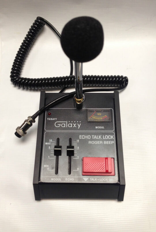 ECHO MASTER GALAXY POWER BASE 4 pin Cobra CB HAM Classic ROGER BEEP MIC